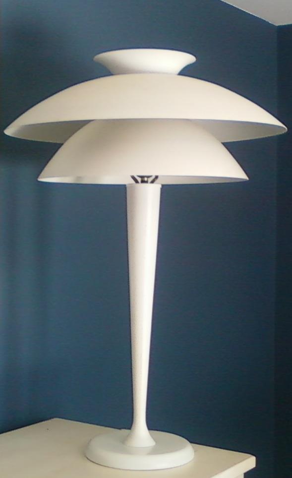 futuristic lamps | wear comfortable shoes
